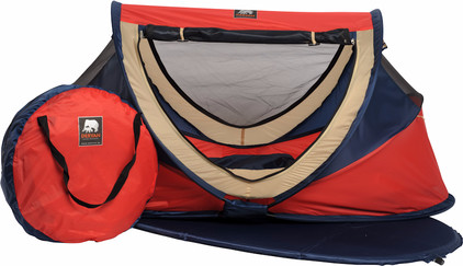 Deryan Travel Cot Peuter Luxe Red