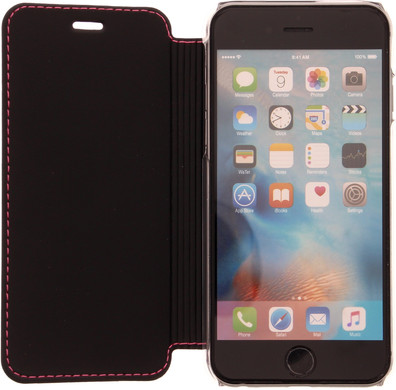 Muvit Luxe Wallet Apple iPhone 6 Plus/6s Plus Book Case Roze