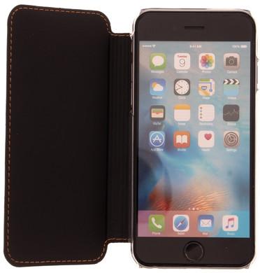 Muvit Luxe Wallet Apple iPhone 6/6s Book Case Bruin