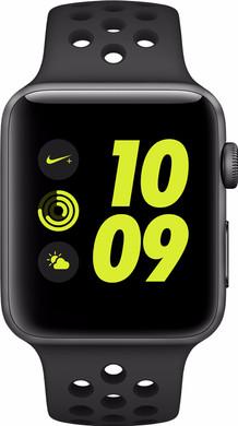 Apple Watch Nike+ 42mm Spacegrijs Aluminium/Antraciet Sportband