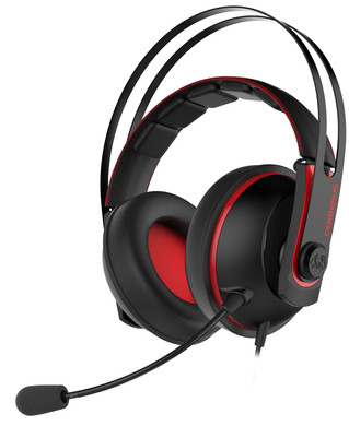Asus Cerberus V2 Gaming Headset Rood