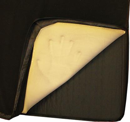Human Comfort Toplaag Memory Foam Cover 75 XL