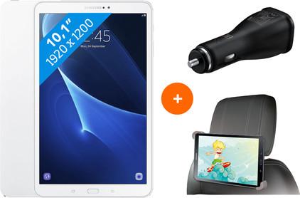 Samsung Galaxy Tab A 10.1 Wifi Wit BE + gratis Carkit