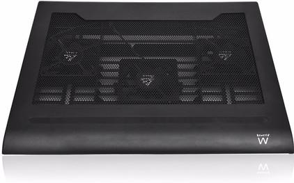 Ewent Laptopstandaard met koeling en USB Hub