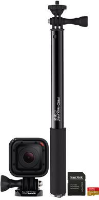 Starterskit - GoPro HERO Session + Geheugenkaart + Selfie-stick