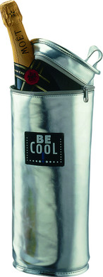 BE Cool T-159 Champagnekoeler Silver