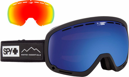 SPY Marshall Black + Rose Blue Spectra & Gray Green Lucid Red Lenzen