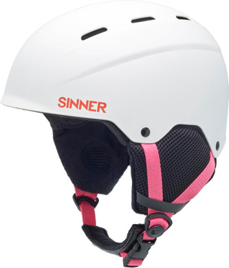 Sinner Poley Matte White (53 - 54 cm)