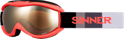 Sinner Toxic S Neon Orange + Orange Mirror Lens