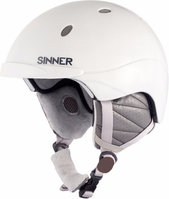 Sinner Titan Matte White (55 - 56 cm)