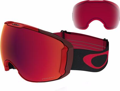 Oakley Airbrake XL Red + Prizm Torch Iridium & Prizm Rose Lenzen