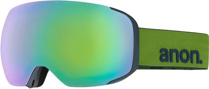 Anon M2 Green + Sonar Green Lens