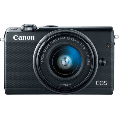Canon EOS M100 Zwart + 15-45mm IS STM