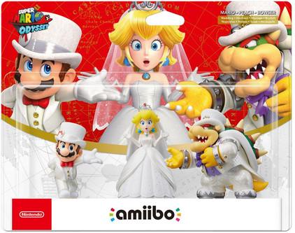 Amiibo Super Mario Odyssey 3 Pack