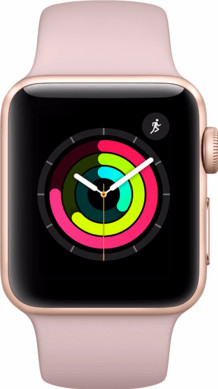 Apple Watch Series 2 42mm Rose Alumium/Rozenkwarts Sportband