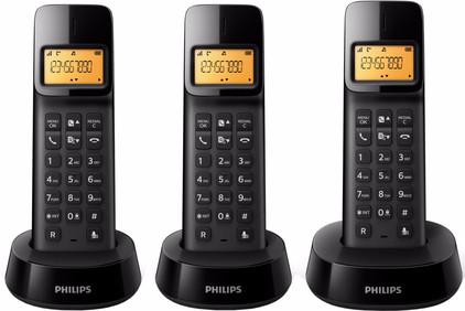 Philips D1403B/22 Zwart