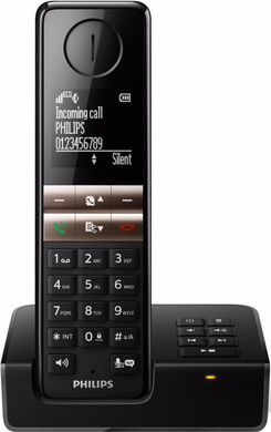 Philips D4651B/01 Zwart