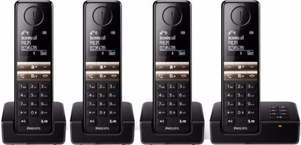 Philips D4654B/22 Zwart