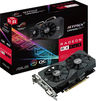 Asus Radeon ROG STRIX RX560-O4G-EVO Gaming