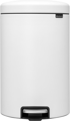 Brabantia NewIcon Pedaalemmer 20 Liter Eternal White