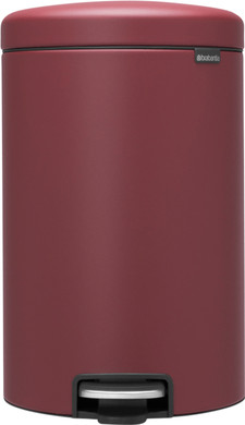 Brabantia NewIcon Pedaalemmer 20 Liter Windsor Red