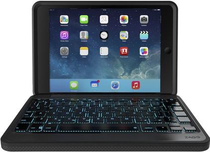 ZAGG Rugged Keyboard Case Apple iPad Mini 4 Zwart
