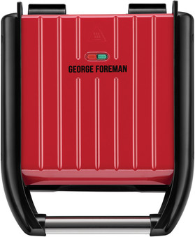 George Foreman Steel Grill Compact