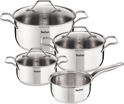 Ensemble de 4 casseroles Tefal Intuition