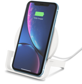 Belkin Boost Up Chargeur sans fil 10 W avec support Blanc
