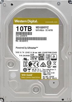 WD Gold WD102KRYZ 10TB