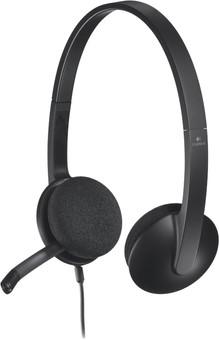Logitech H340 Stereo USB-A Headset