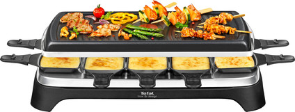 Tefal Raclette & Grill Inox & Design RE458812