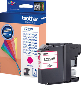 Brother LC-223 Cartridge Magenta