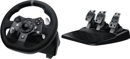 Logitech G920 Driving Force - Volant de Course pour Xbox Series X|S, Xbox One & PC