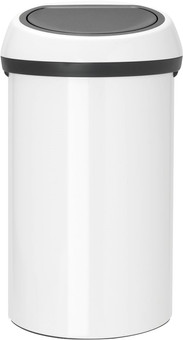 Brabantia Touch Bin 60 Liter Wit