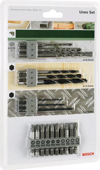 Bosch Set d'accessoires Uneo SDS-Quick 19 pièces