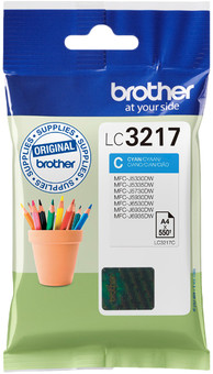 Brother LC-3217 Cartridge Cyan