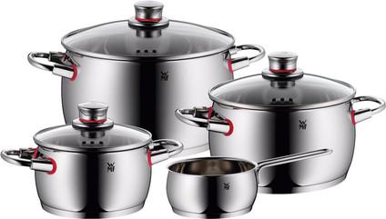 WMF Quality One Ensemble de 4 casseroles avec poêlon