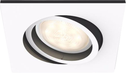 Philips Hue Milliskin inbouwspot White Ambiance Wit - vierkant