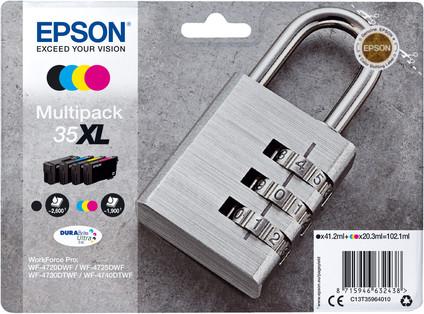 Epson 35XL Cartouches Pack Combiné