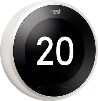 Google Nest Learning Thermostat V3 Premium Blanc