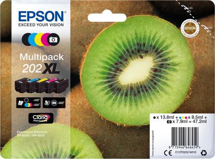 Epson 202XL 5-Color Pack (C13T02G74010)