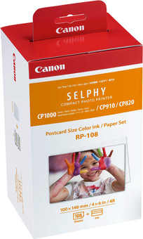 Canon RP-108 Set Cartouche Encre / Papier 108 Feuilles