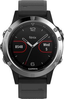 Garmin Fenix 5 Zwart/Zilver