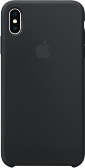 Apple iPhone Xs Max Silicone Back Cover Zwart