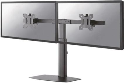NewStar FPMA-D865DBLACK Support pour écran PC Noir