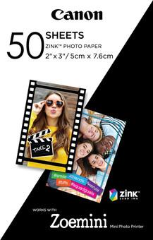Canon papier photo ZINK (50 feuilles)