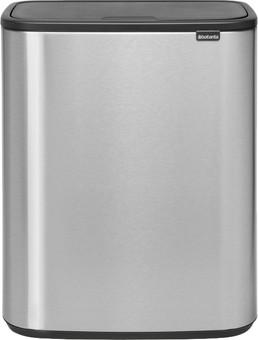 Brabantia Bo Touch Bin 60 Litres Steel Fingerprint Proof