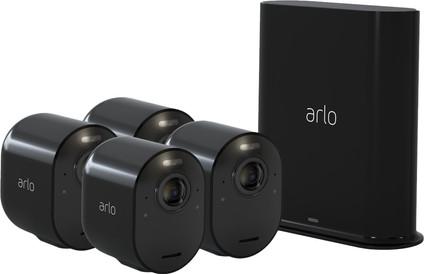 Arlo Ultra 4K Noir Lot de 4
