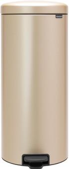Brabantia NewIcon Pedaalemmer 30 Liter Champagne